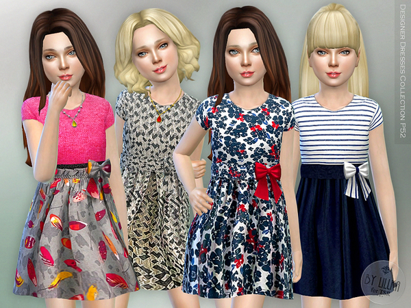 Designer Dresses Collection P52 by lillka