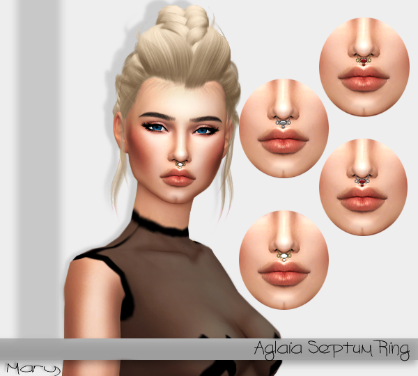 Aglaia Septum Ring by MryDiLaurentis