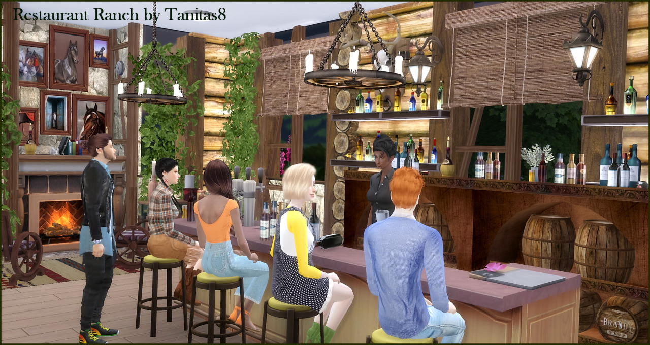 Ranch Restaurant by Tanitas8