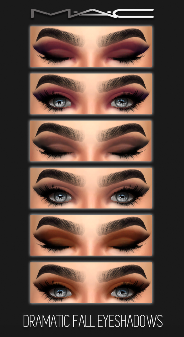 Dramatic Fall Eye-shadows by maccosimetics