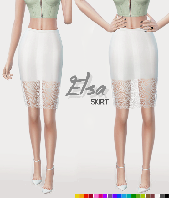 ELSA SKIRT by ItsLeeloo