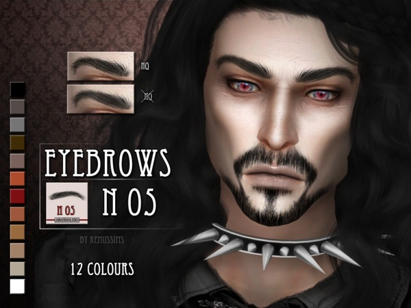 Eyebrows N05 by RemusSirion