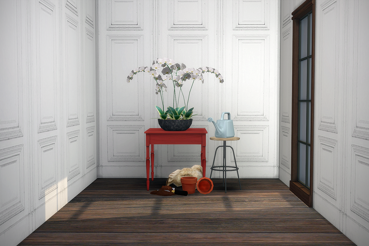 Wallpaper and Floor by TheMalle