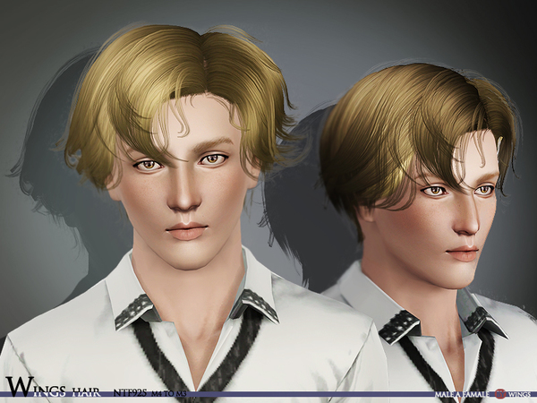 Wings Hair_SIMS3_NTF925_F M by wingssims
