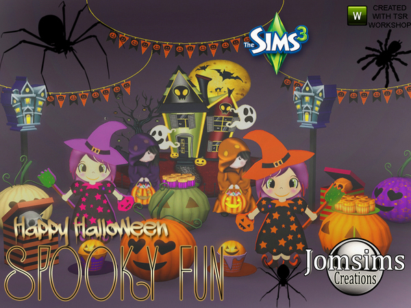 Spooky fun deco set by jomsims