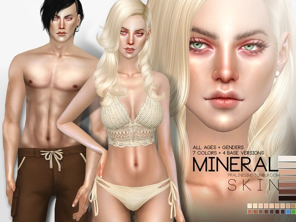 PS Mineral Skin by Pralinesims