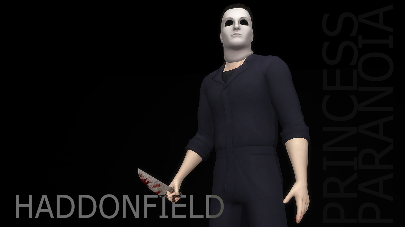 Haddonfield Michael Myers Mask and Outfit by BeverlyallitSims