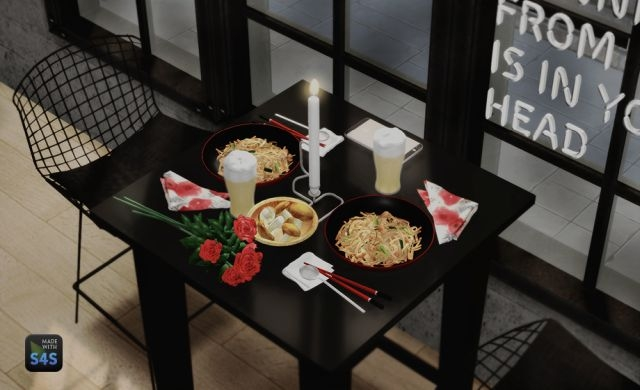 The77sim3 Taiwanese Food Set by DreamTeamSims