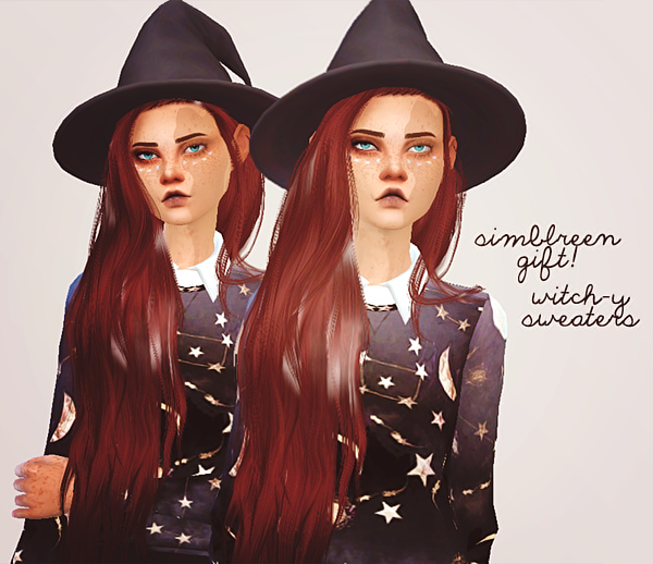 simblreen gift #2_witch-y sweaters by Puresims