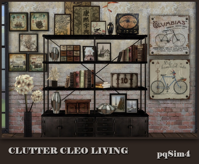 Clutter Cleo Living by pqsim4