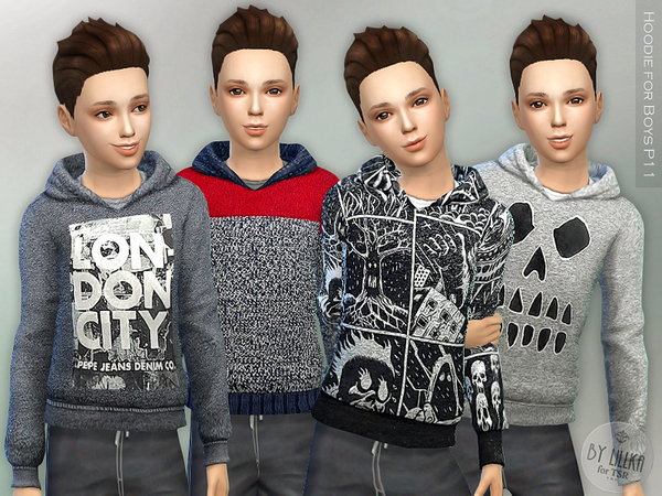 Hoodie for Boys P11 by lillka