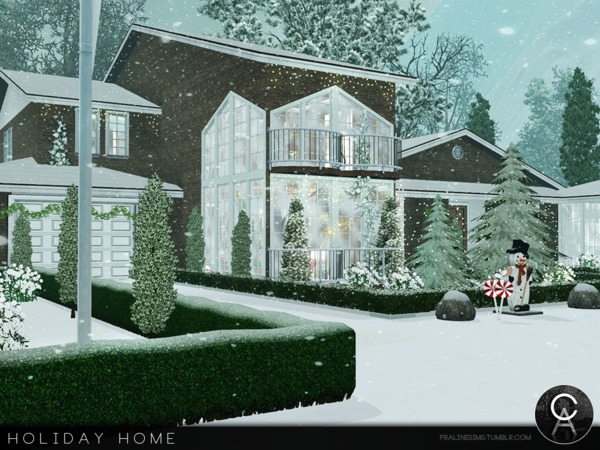 Holiday Home by Pralinesims