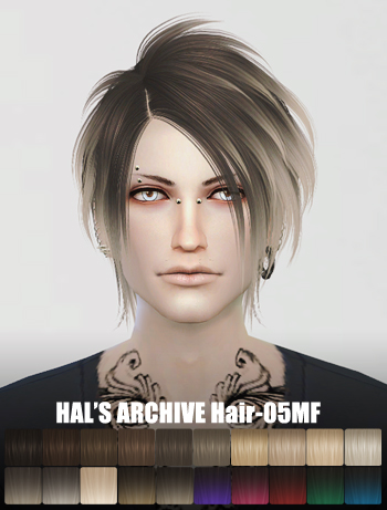 HAL'S ARCHIVE Hair-05MF