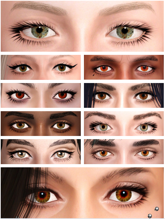 Updated brown eyes by ulito4ka