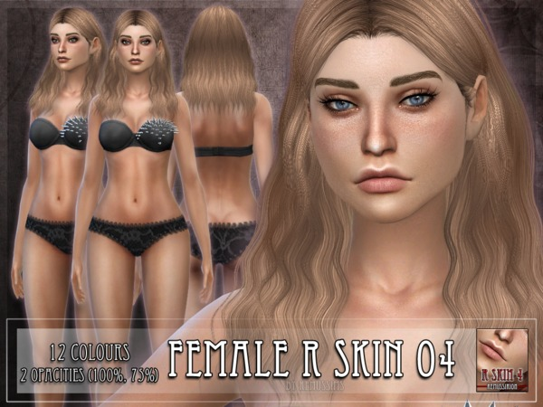 R skin 4 - FEMALE by RemusSirion