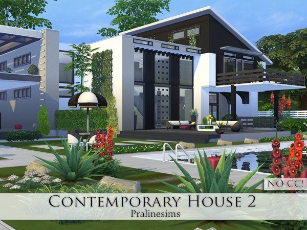Contemporary House 2 by Pralinesims