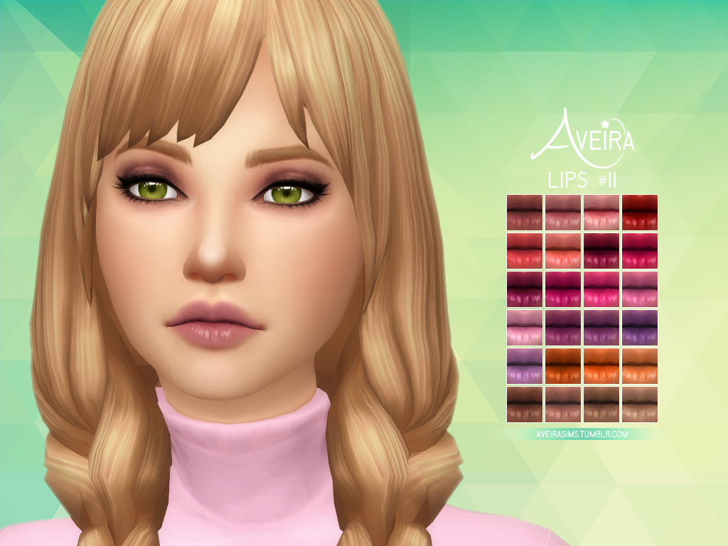 LIPS #11 by AveiraSims