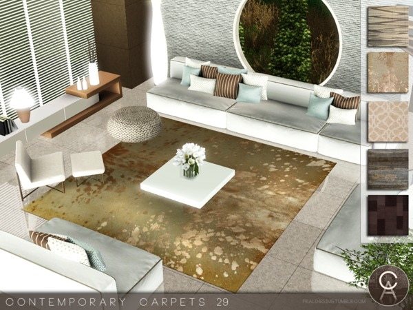 Contemporary Carpets 29 by Pralinesims
