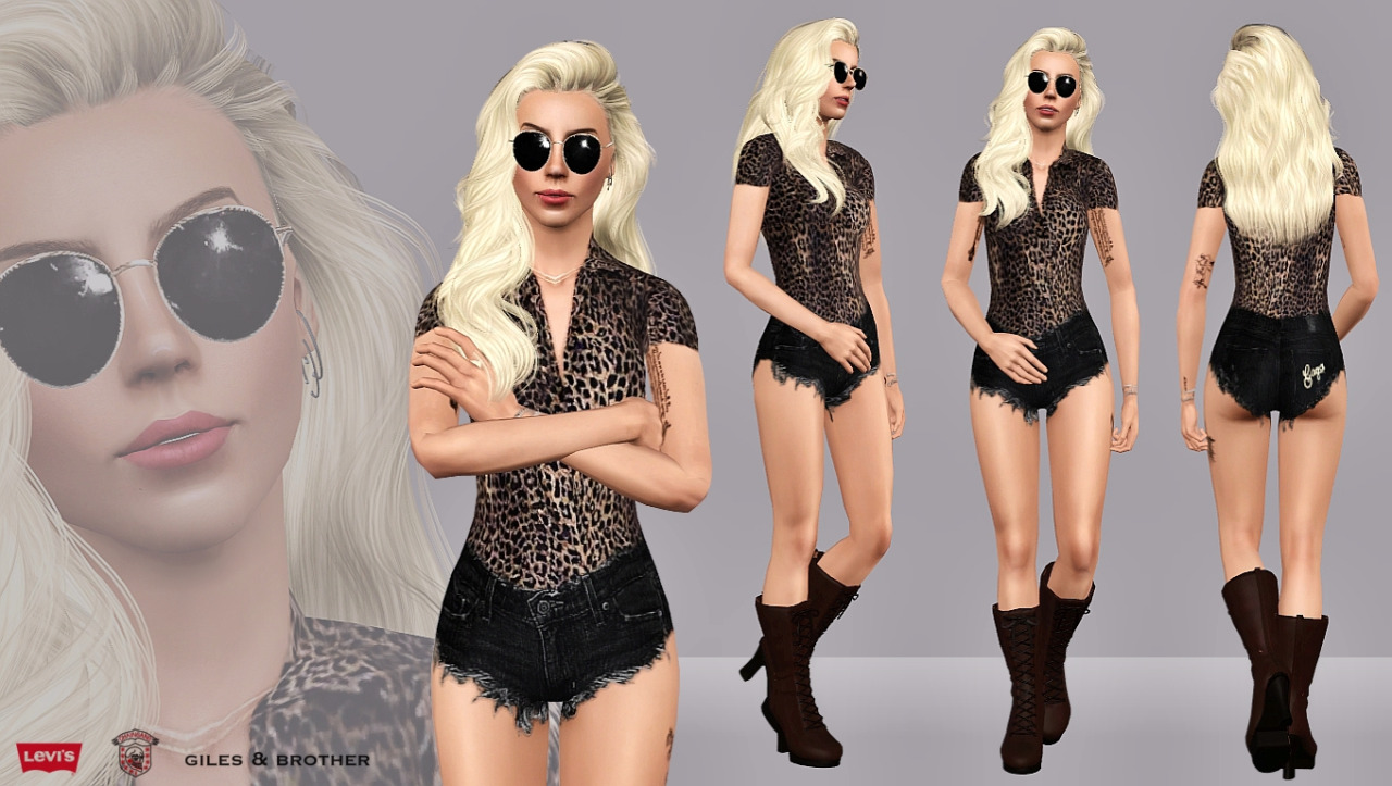 Leopard & Denim от ArtSims