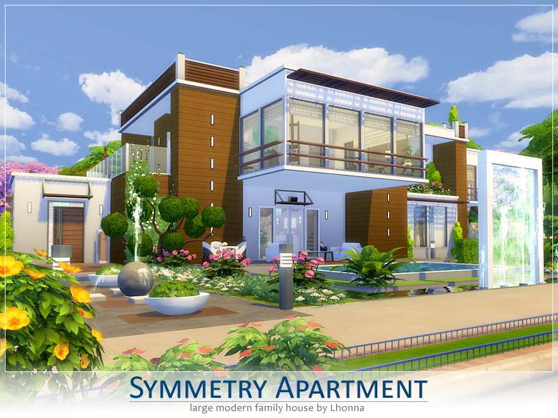 Symmetry Apartment by Lhonna