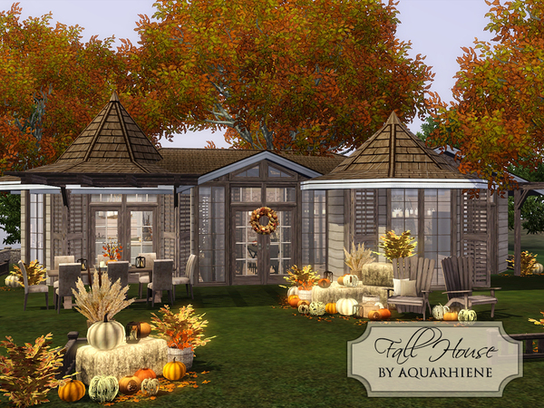 Fall House by Aquarhiene