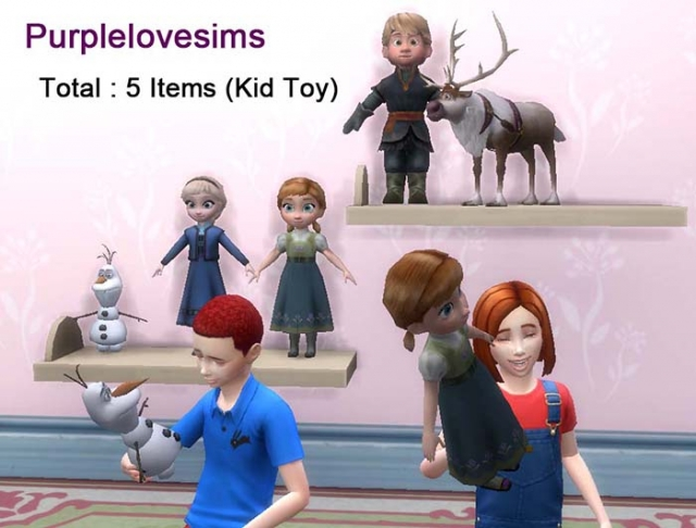 Toys by PurpleLoveSims