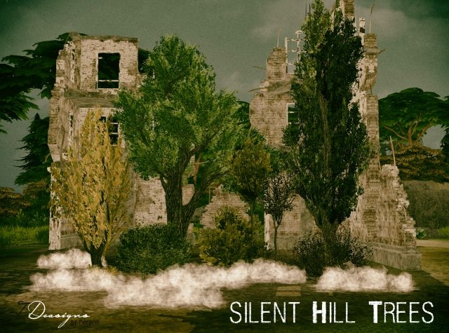 TS2 Silent Hill Trees and Shrubs Conversion by Daer0n