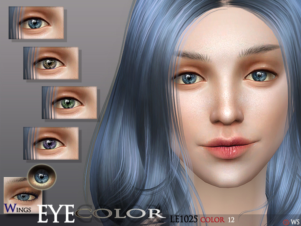 WINGS SIMS4 EYECOLOR LE1025 by wingssims