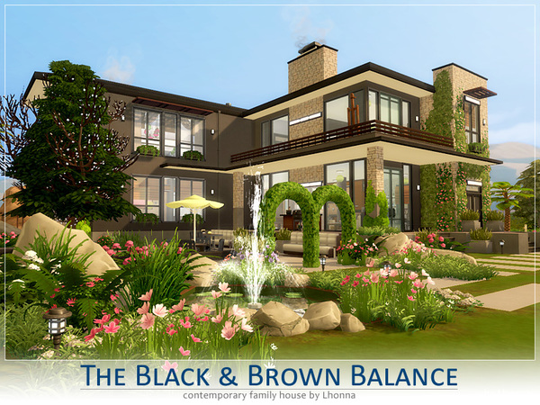 The Black and Brown Balance by Lhonna