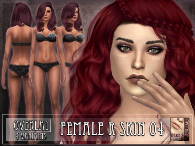 R skin 4 - FEMALE - Overlay by RemusSirion