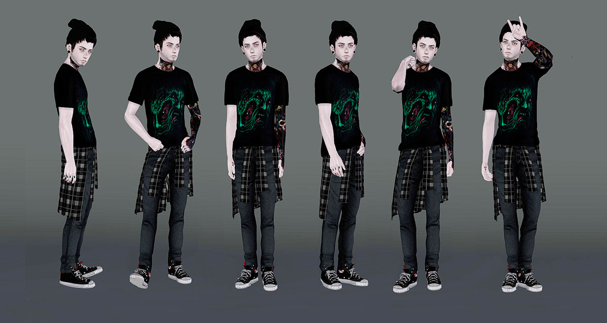 """Random Pose Pack """"DXC October"""" от subpoint"""