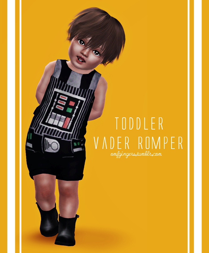 Vader and Robin Rompers от omfgingers