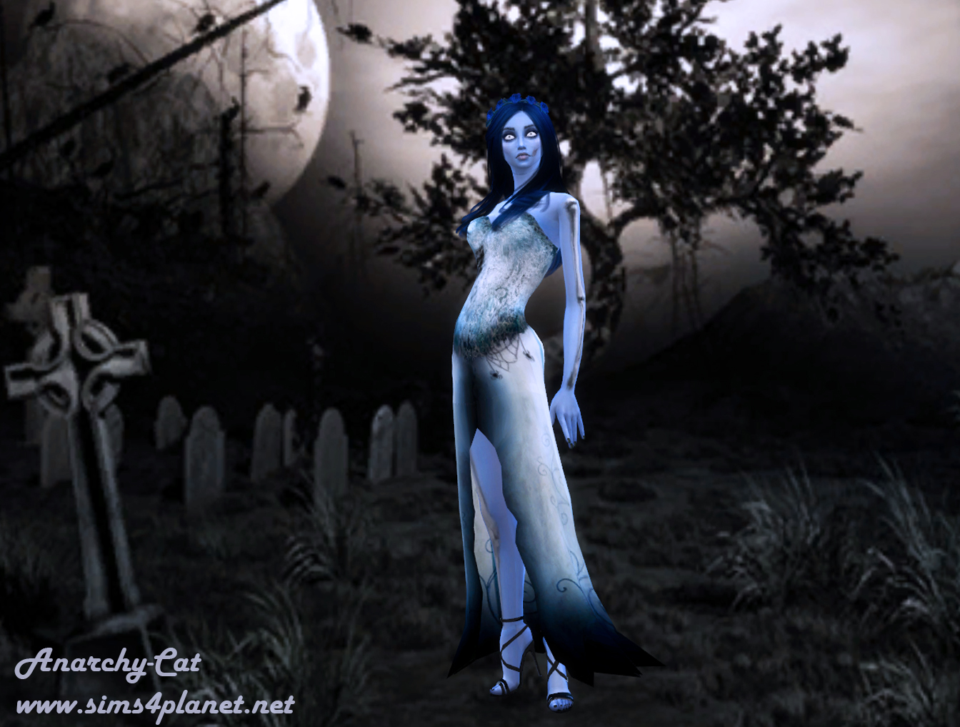 Emily (Corpse Bride) by Anarchy-Cat
