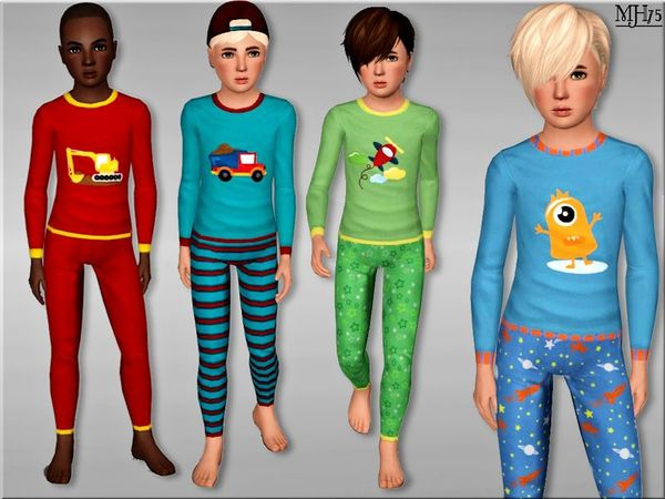 S3 Lil Lads Pyjamas by Margeh-75