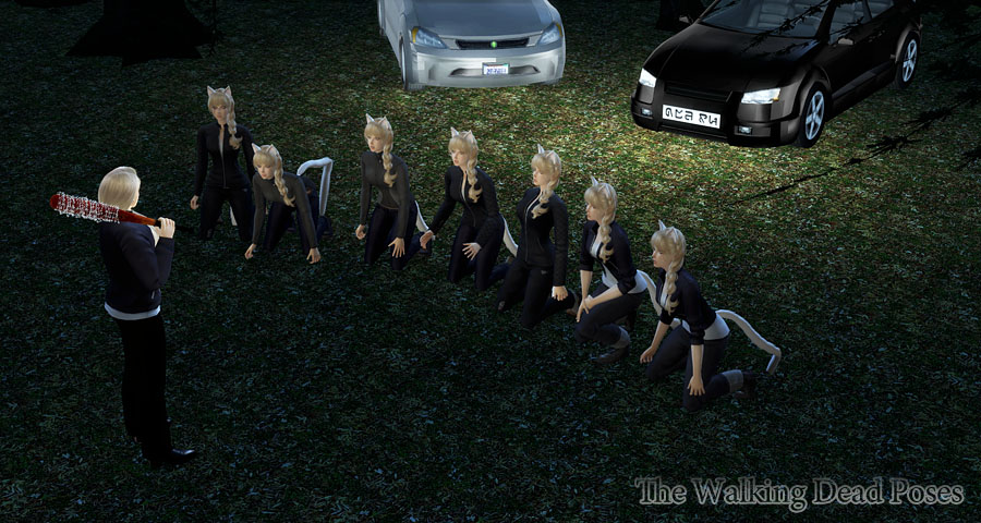 The Walking Dead Poses by Caramelize