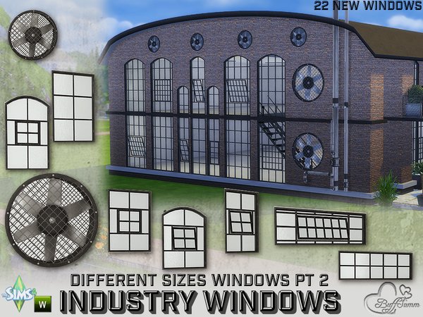 Industry Windows for All Wall Sizes Pt. 2 by BuffSumm