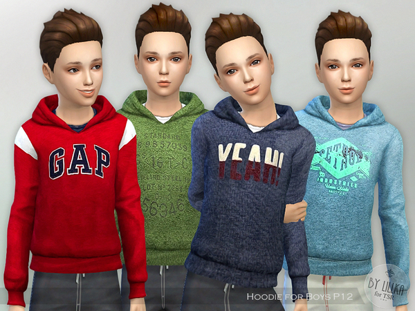 Hoodie for Boys P12 by lillka