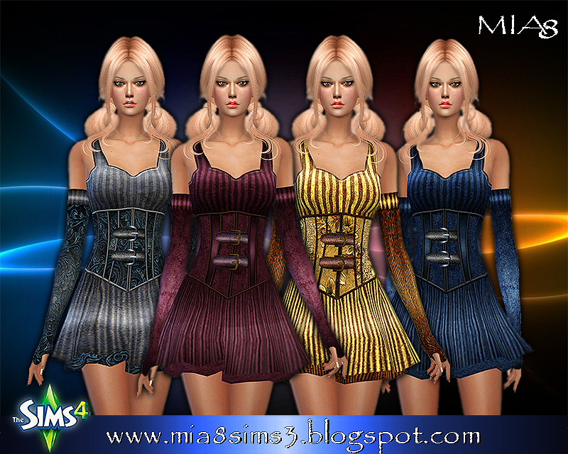 A woman's dress (4 colors) by Mia8