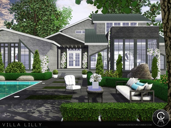 Villa Lilly by Pralinesims