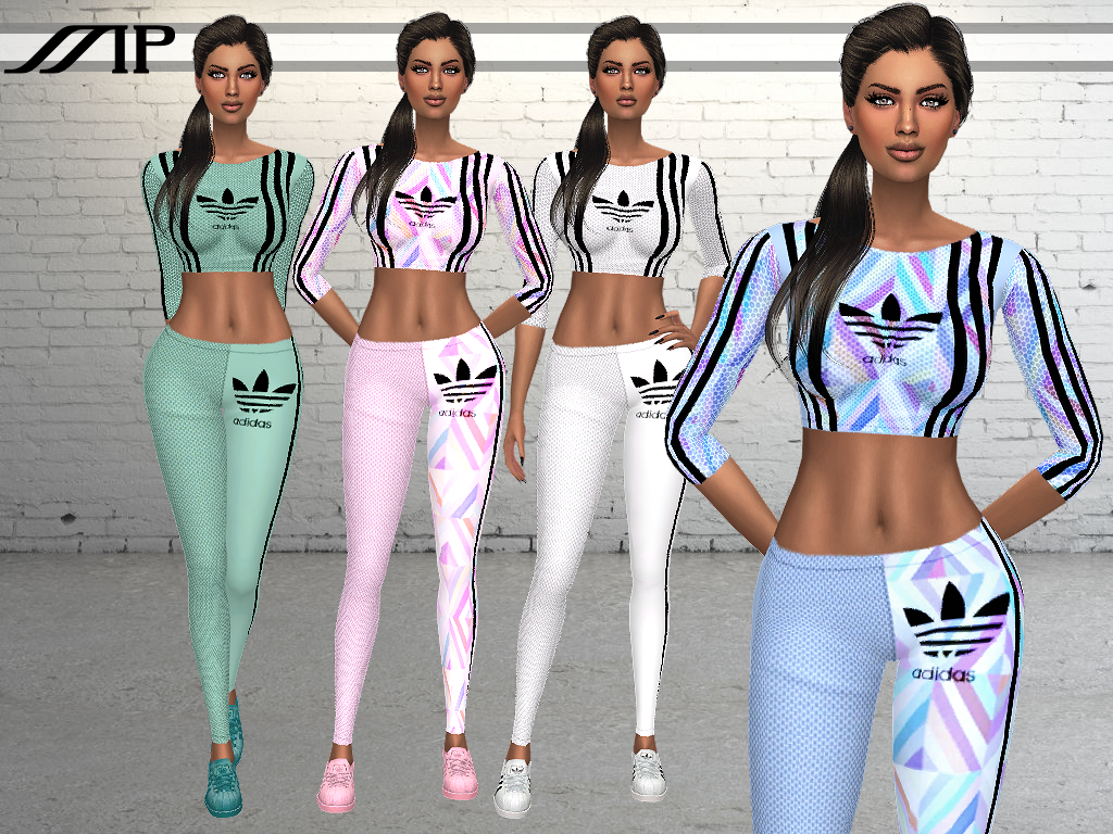 MP Adidas Mesh Fitting Outfit by MartyP
