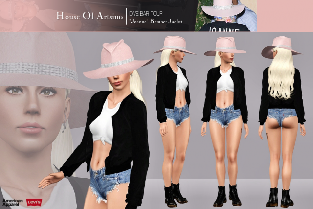 "Dive Bar Tour  ""Joanne"" Bomber Jacket by ArtSims"