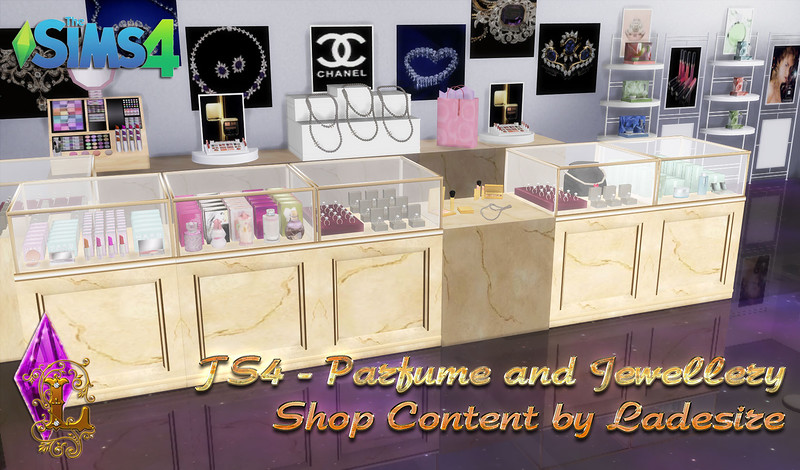 Parfume and Jewellery Shop Content by Ladesire