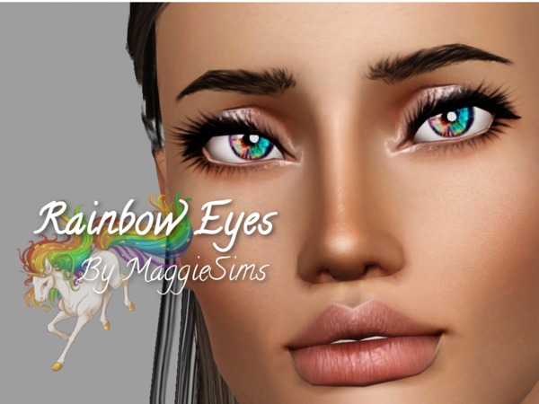 Rainbow Eyes by mhamilton0911
