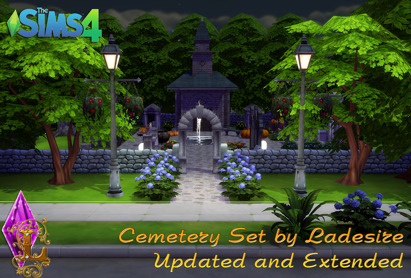 Cemetery Set (Updated and Extended) by Ladesire