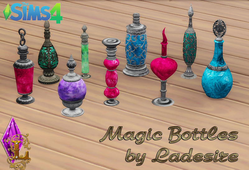 Magic Bottles by Ladesire