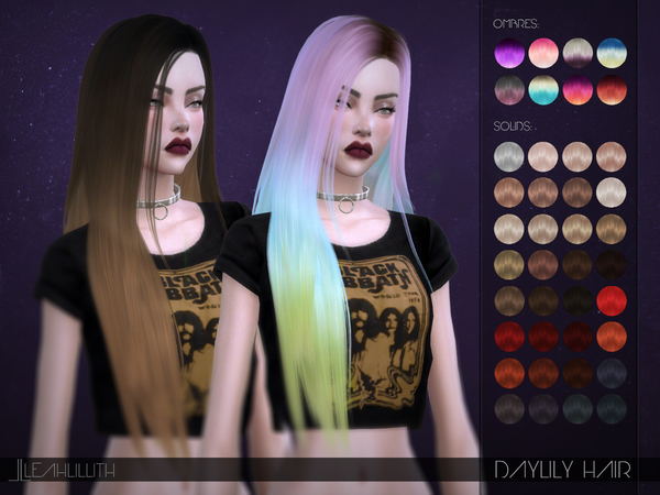 LeahLillith Daylily Hair by Leah Lillith
