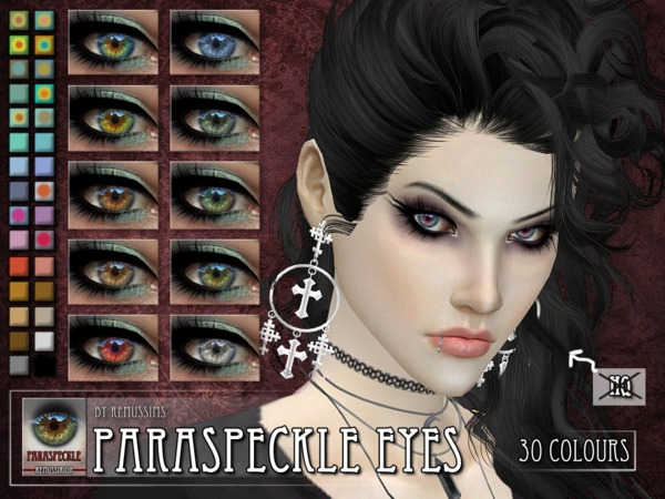 Paraspeckle Eyes by RemusSirion