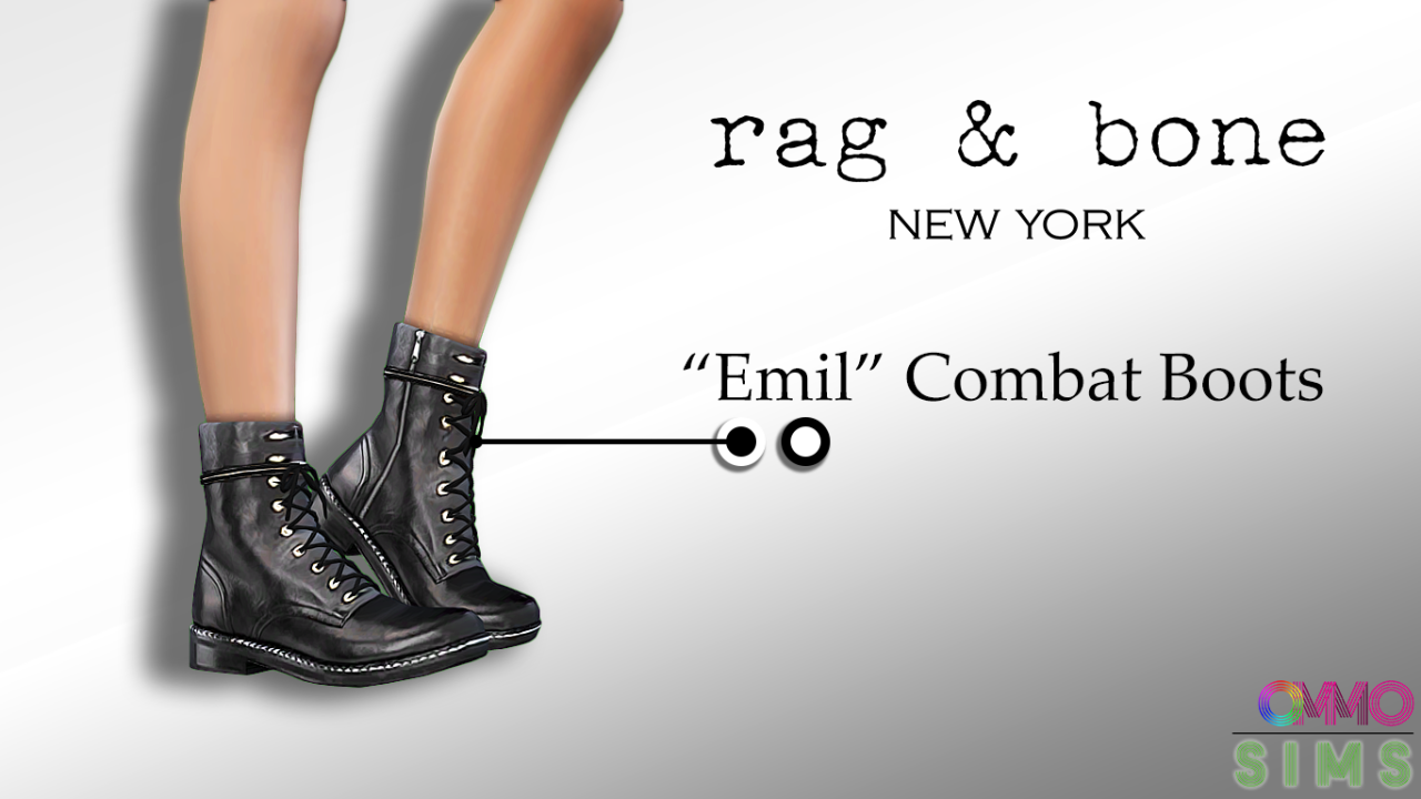 Combat Boots by OmmoSims