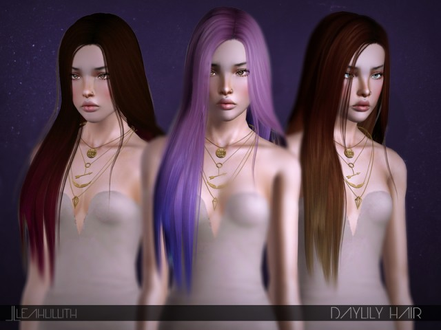 Daylily Hair by LeahLilith