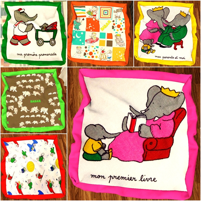 Babar baby blankets by simplysickandtired